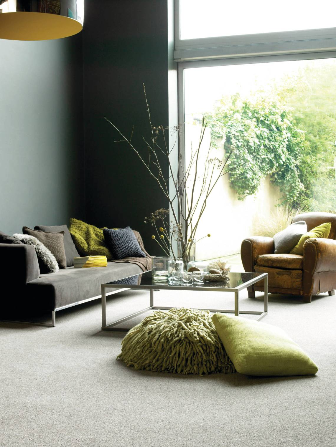 Cream And Olive Green Colour Scheme Living Room Ideas Photos Houzz