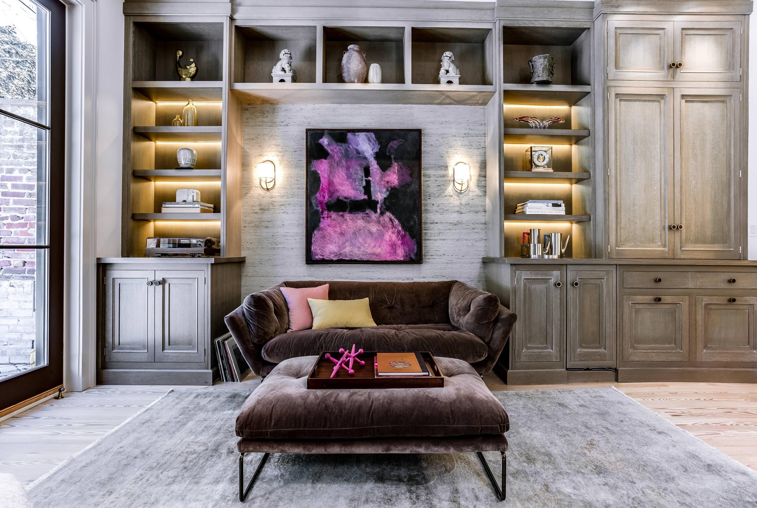 distressed living room ideas photos