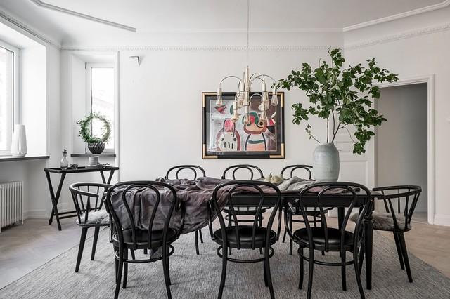 Sedia da cucina moderna di design in ecopelle di design similpelle stile moderno gambe in legno per sala da pranzo, cm 41 x 49 x 71 h. Sedie Nere 8 Ragioni Per Cui Stravolgeranno Il Tuo Soggiorno