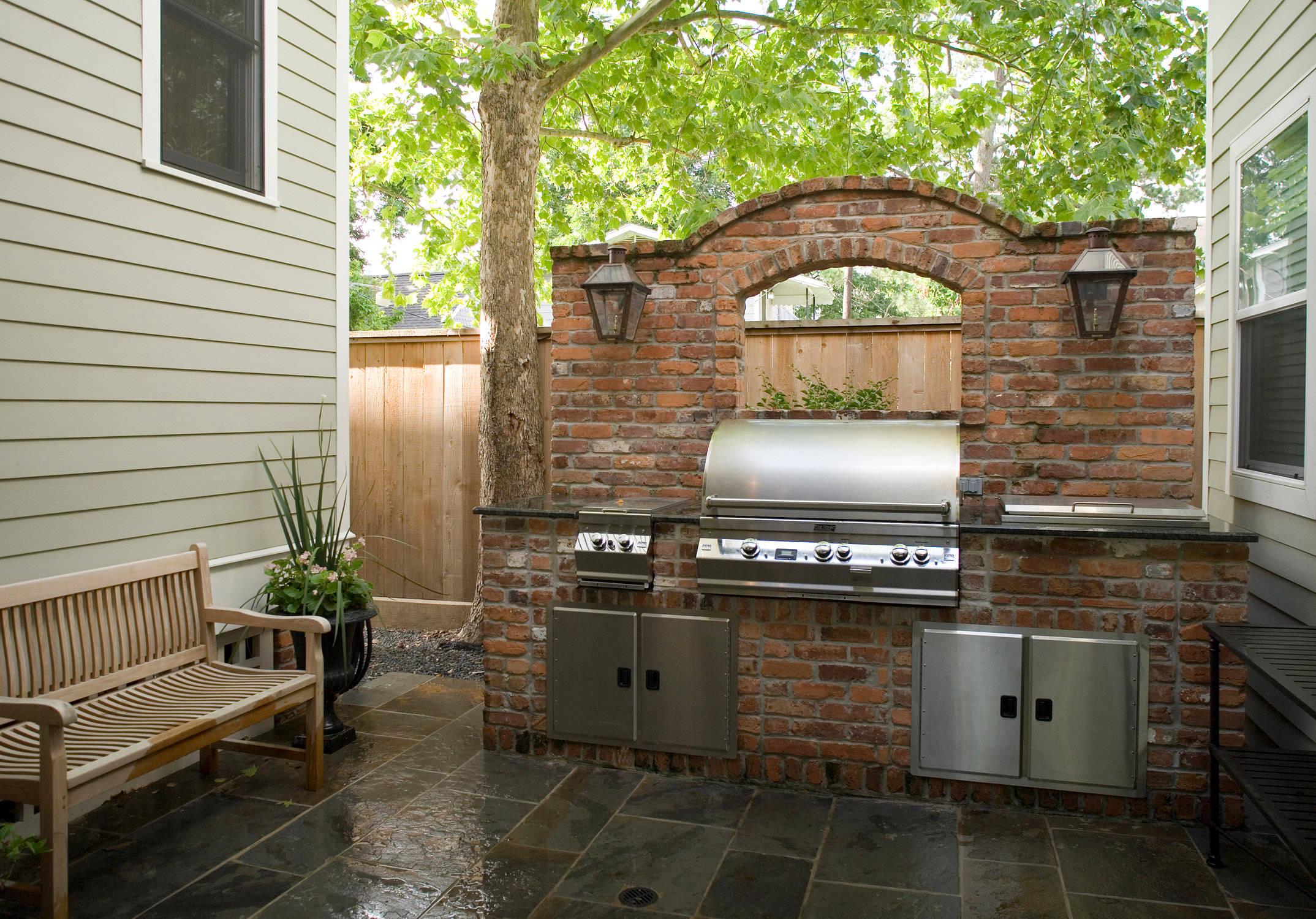 grill patio ideas houzz