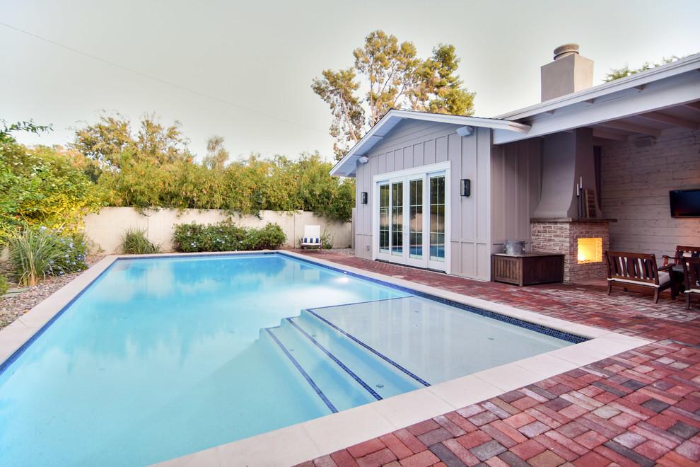 Arcadia Traditional Ranch Home - Transitional - Patio ... on Arcadia Backyard Designs id=95151