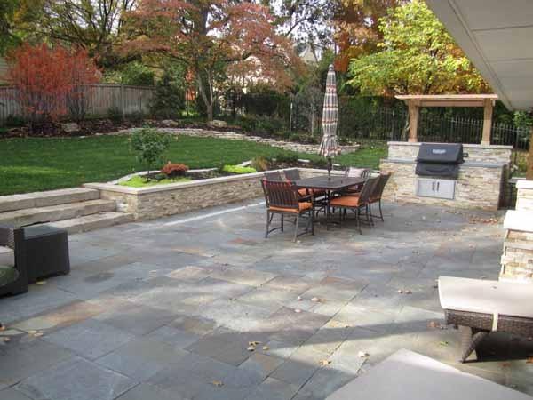 backyard patio by kimball tile