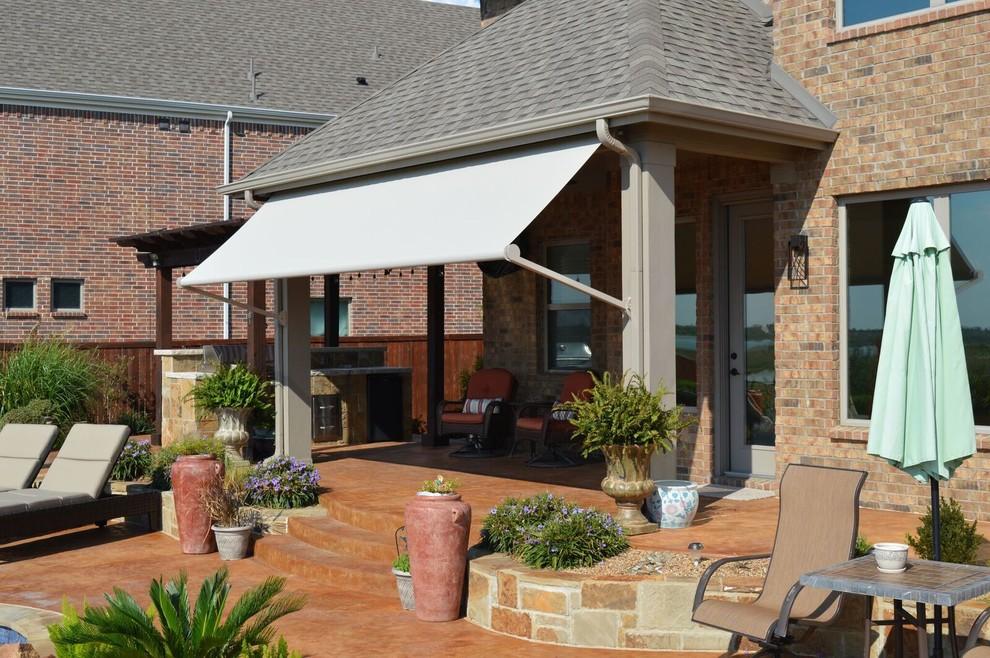 custom patio drop shades 2 n 1 design