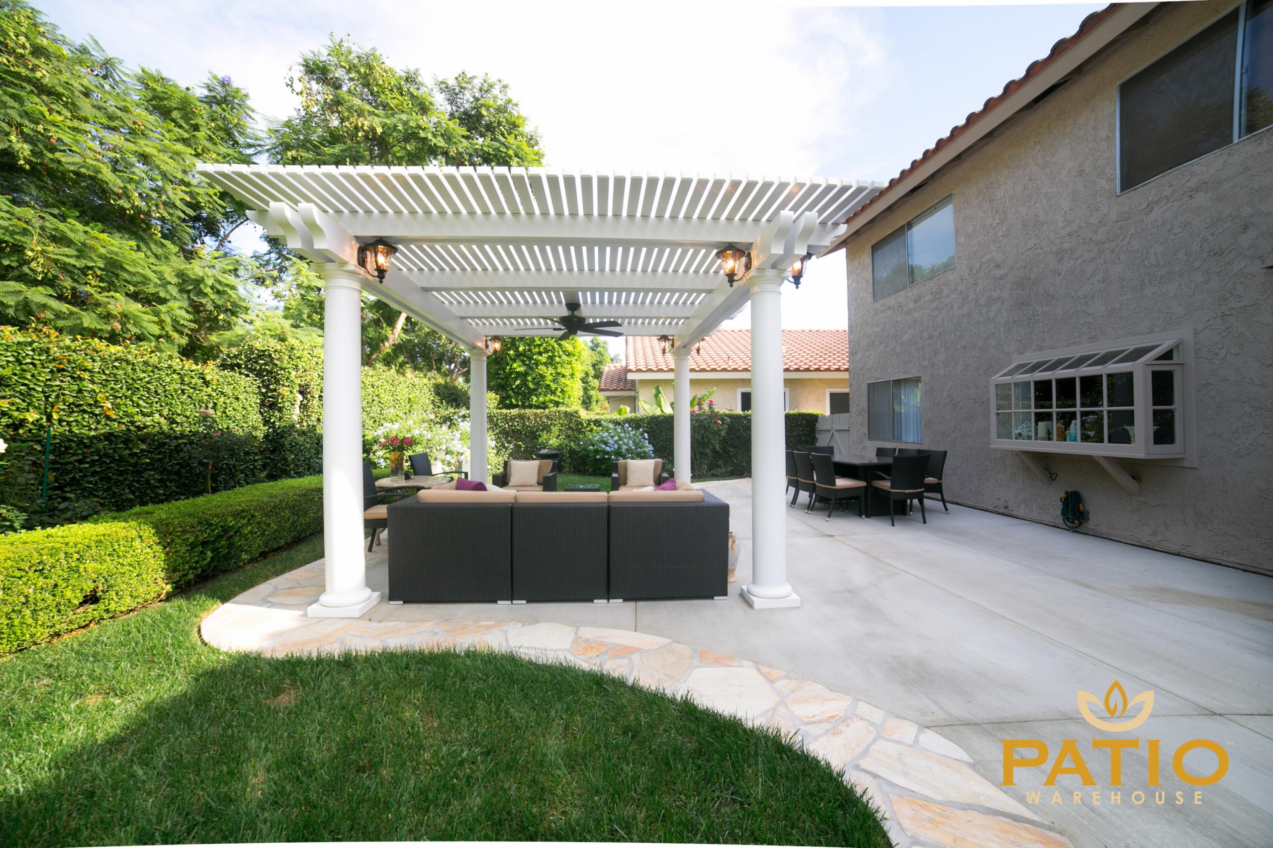 elitewood lattice patio covers modern