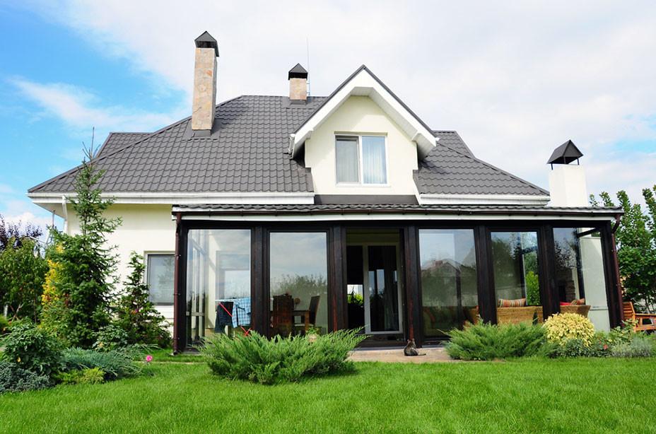 glass enclosed patio contemporary