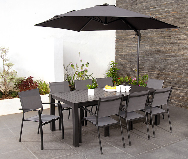 havana 8 seater garden dining sets with