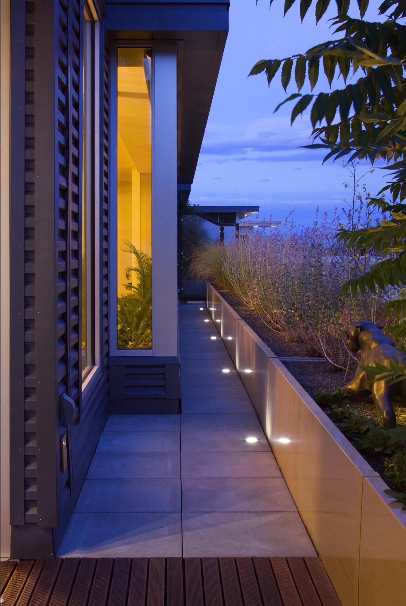 floor lighting contemporary patio