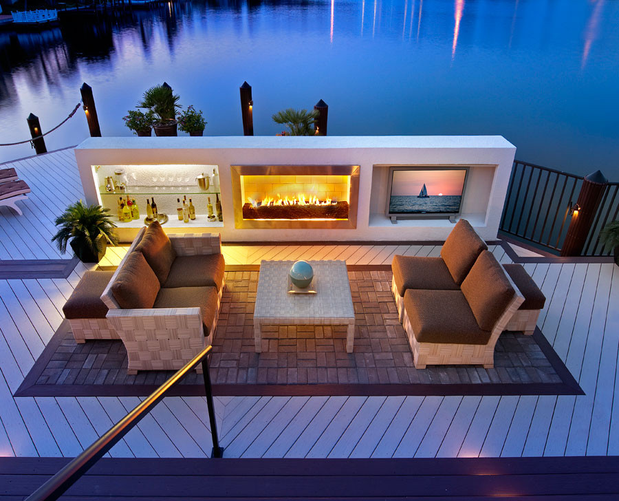 Indoor/Outdoor Living - Contemporary - Patio - Miami - by ... on Ab And Outdoor Living  id=40570