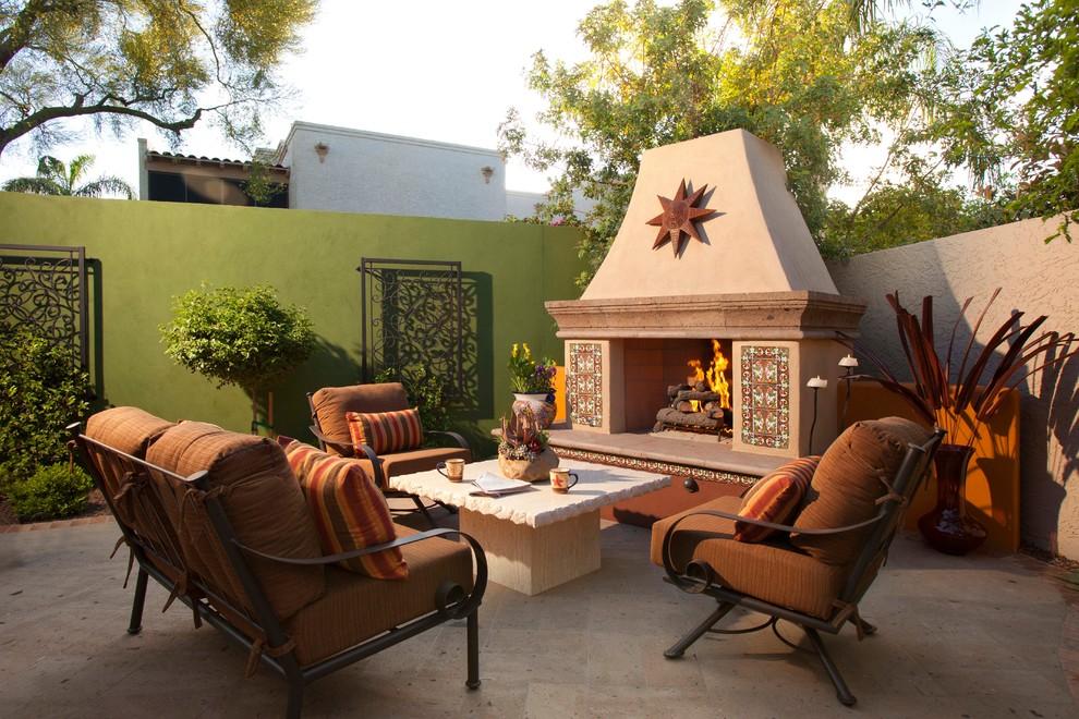 intimate space southwestern patio