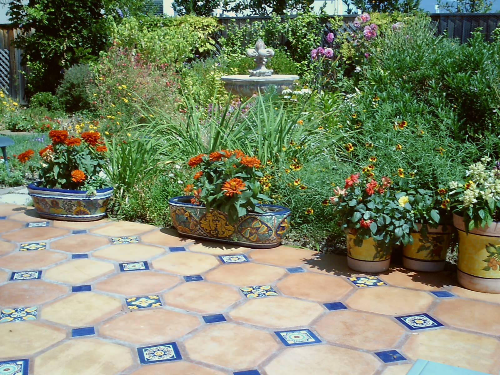 ceramic tile patio houzz