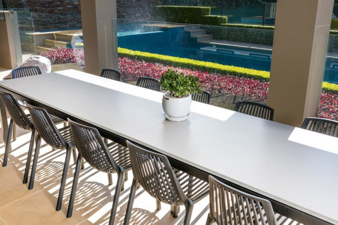 Modern Outdoor Dining Table Custom Made Contemporary Patio Sydney By Moss Furniture Houzz