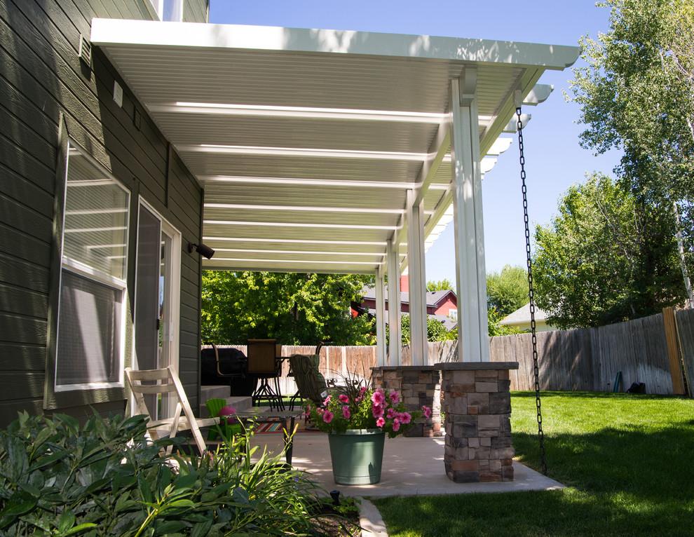 skylights modern patio boise