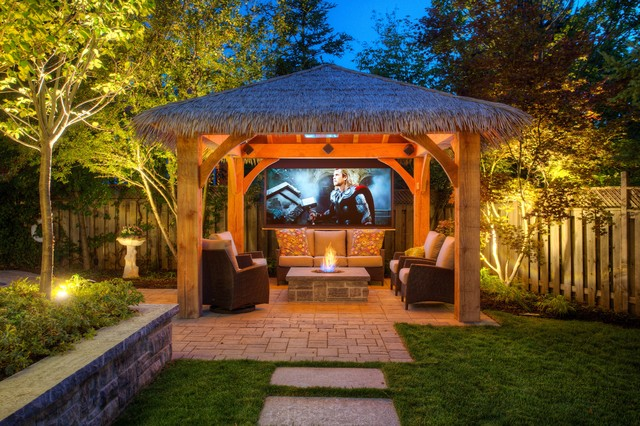 gorgeous pavilions for outdoor entertaining