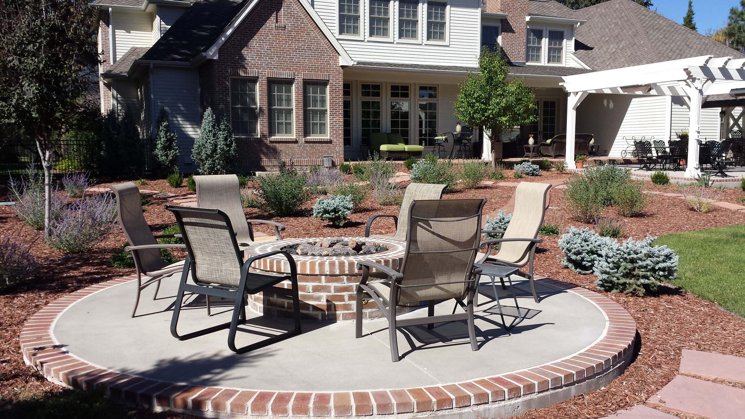 traditional patio denver