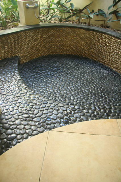 island stone king pebble pool medan