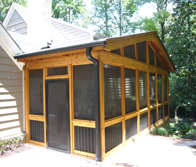 Porches & Screened Porches - Traditional - Verandah ... on Synergy Outdoor Living  id=97293