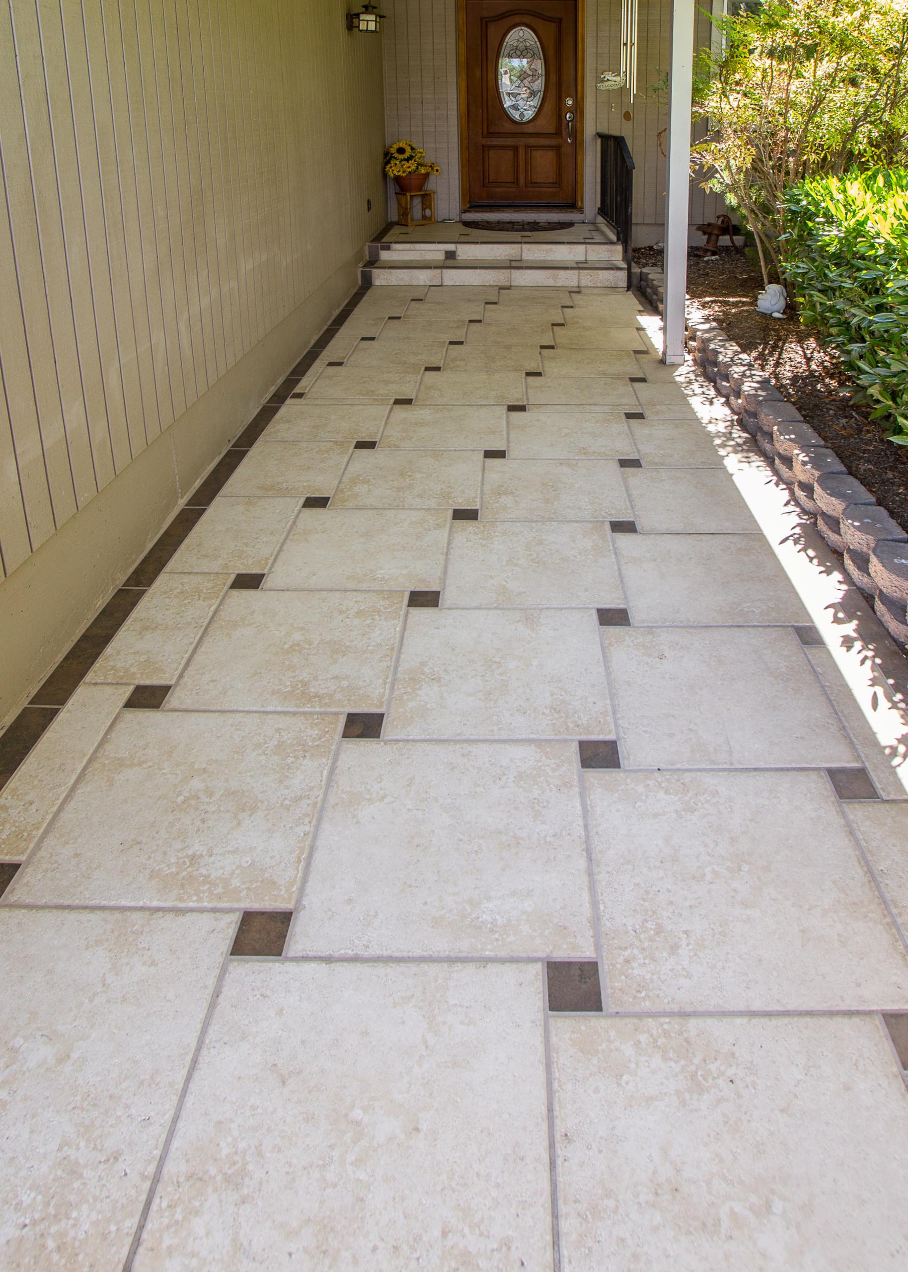 pinwheel pattern tile houzz