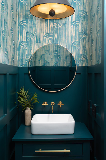 the 10 most popular powder rooms on