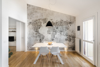 Carta da parati ideale per la casa. Pnn House Contemporary Dining Room Cagliari By Mauro Soddu Houzz