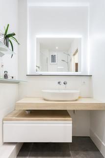 petit salle de bain moderne photos et