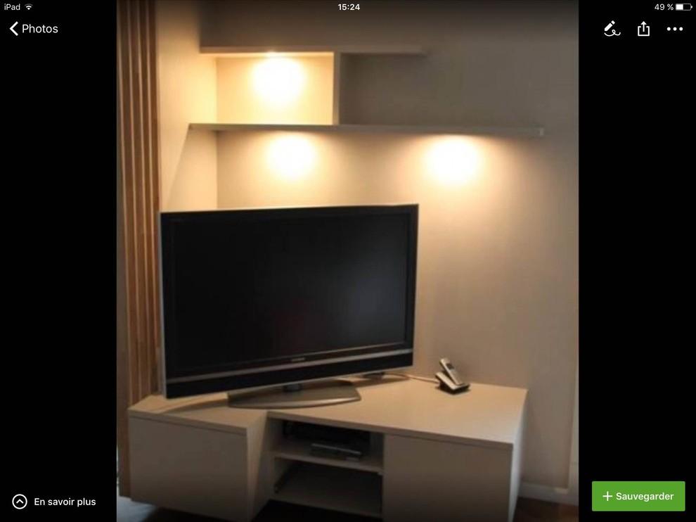 meuble tv sur mesure traditional