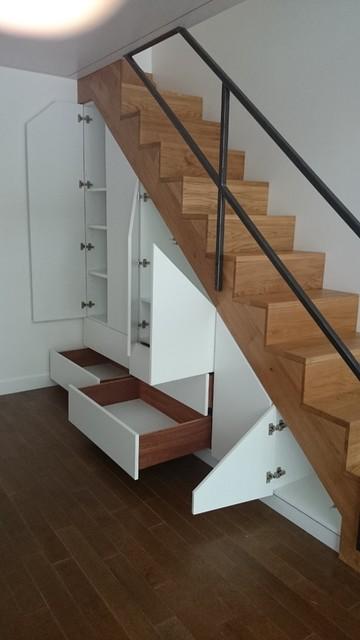 mezzanine escalier garde corps et