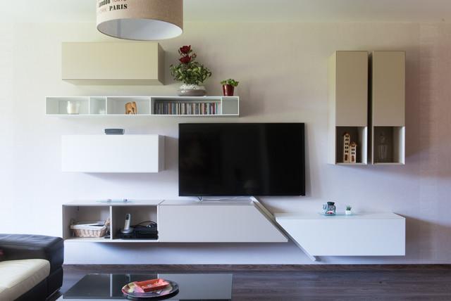 composition murale pour meuble tv