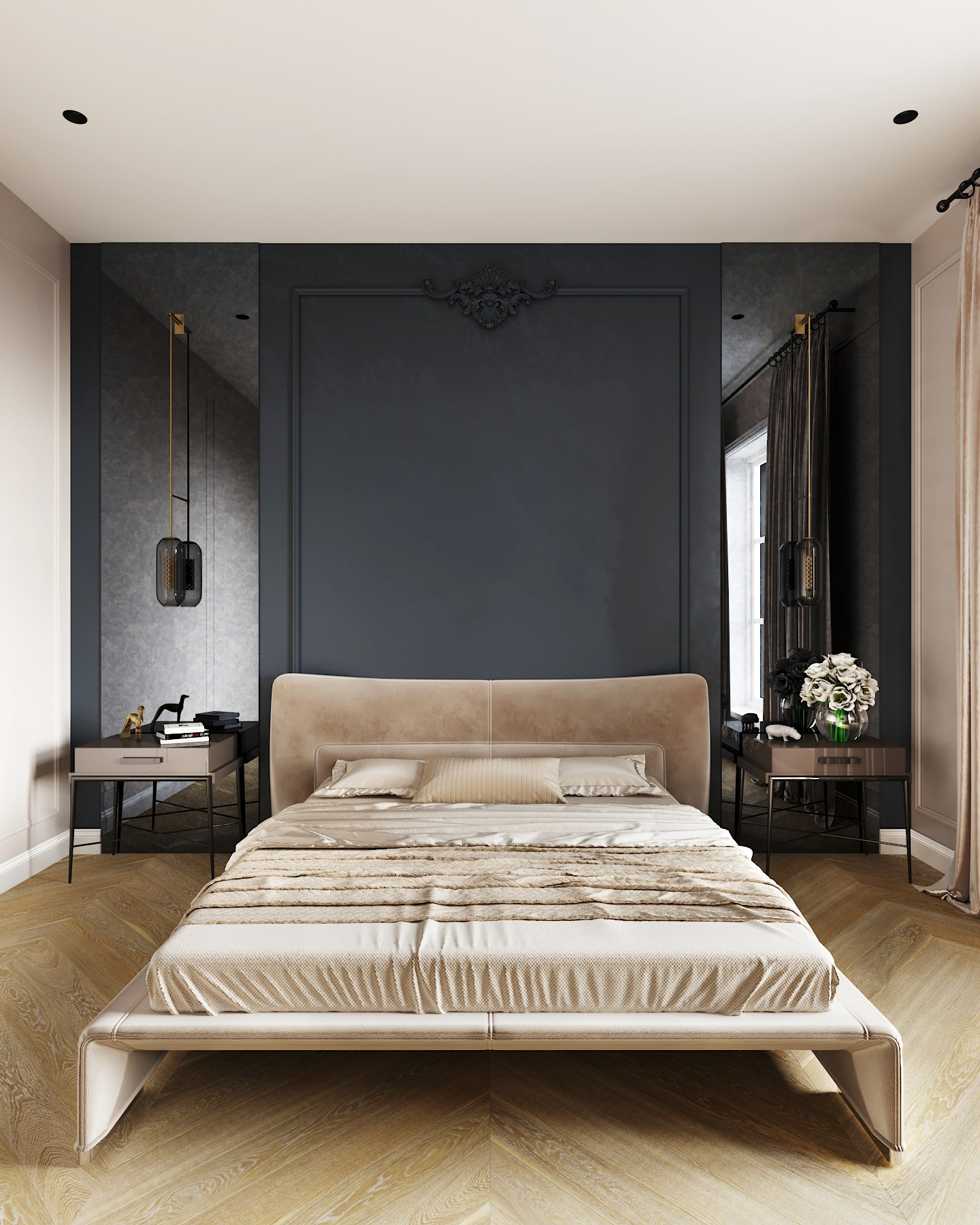 wall paneling bedroom pictures ideas