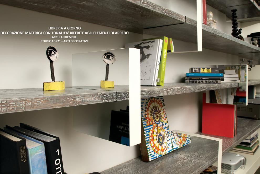 Ottimizza i tuoi spazi e arreda con. Librerie Artistica A Giorno Mensole Artistiche A Spessore E Resinate Contemporary Family Room Rome By Arti Decorative Studio Adp21 Houzz