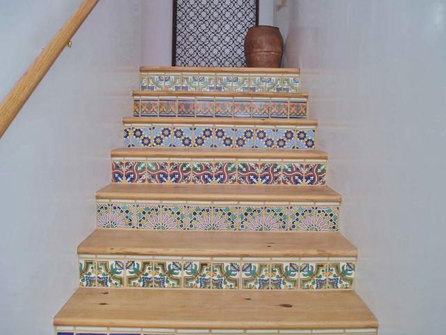 mexican tile risers santa fe nm