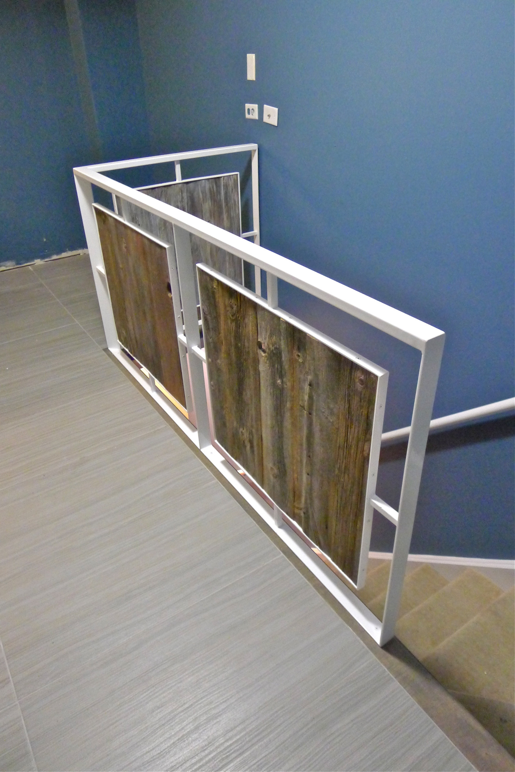 Steel Wood Stair Houzz | Staircase Design Steel And Wood | Angle Bar Stair | U Shaped Stair | Simple | Wooden Step | Open
