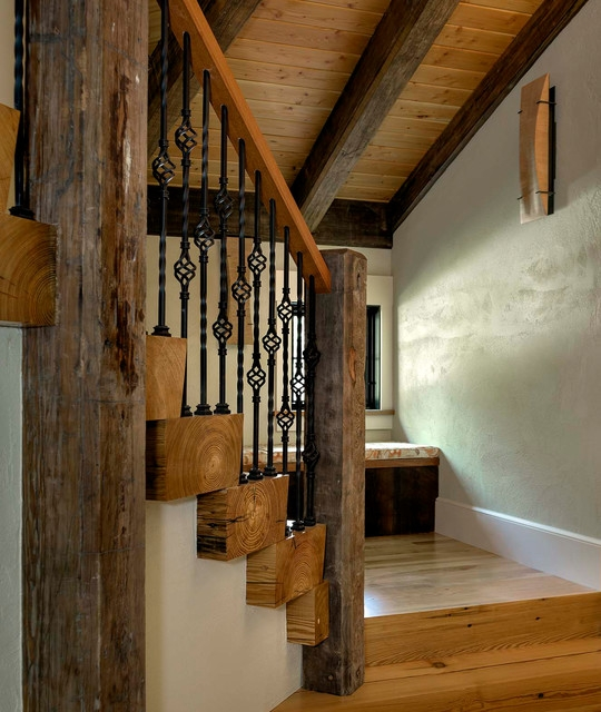Reclaimed Heart Pine Wood Stair Treads Staircase Boston By | Pine Wood Stair Treads | Stair Risers | Stair Nosing | Lumber | Unfinished Pine | Plywood