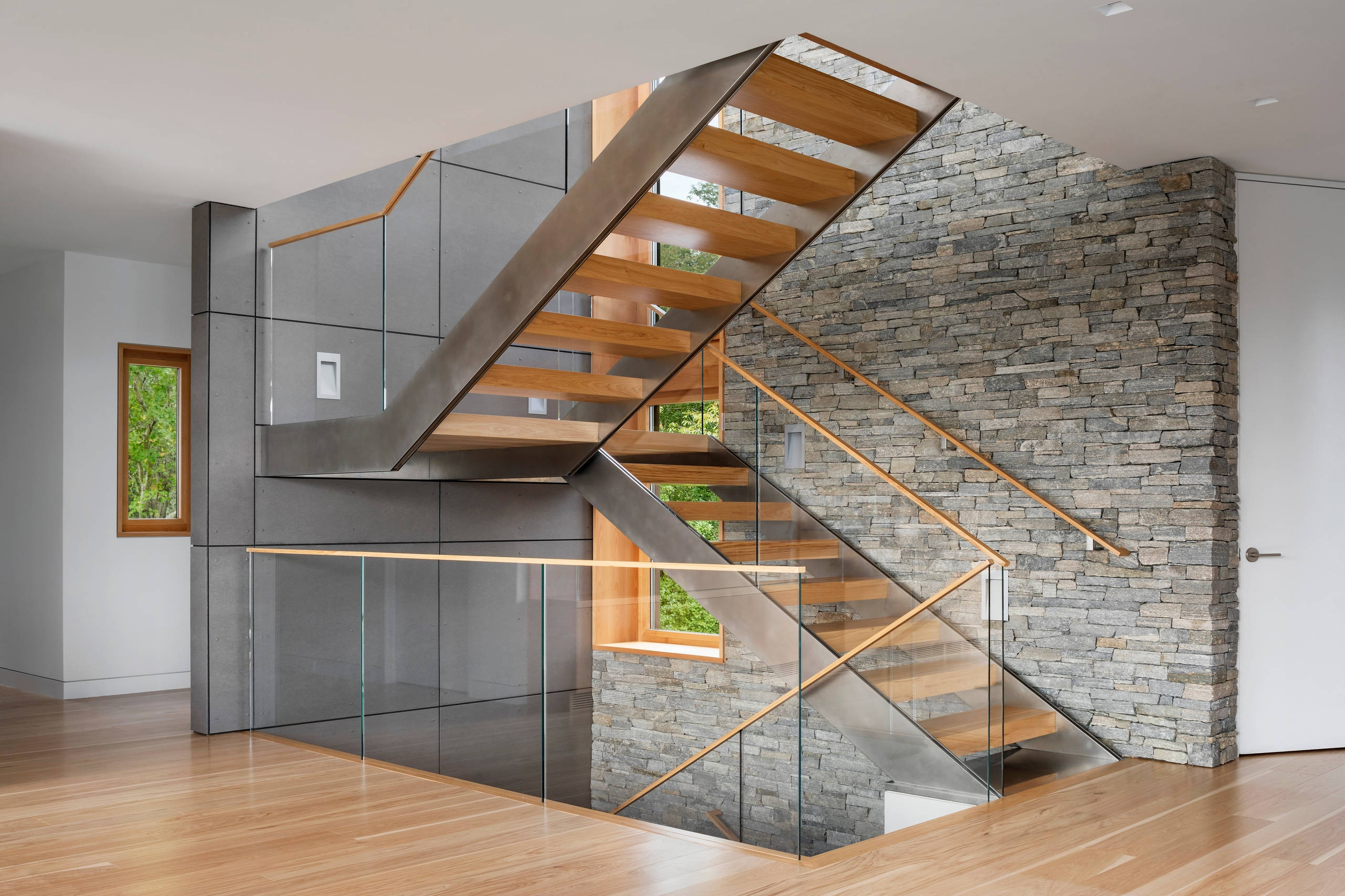 75 Beautiful Modern Staircase Pictures Ideas September 2020 | Designer Stairs For Houses | Cool | Contemporary | Fancy | Residential | Interior