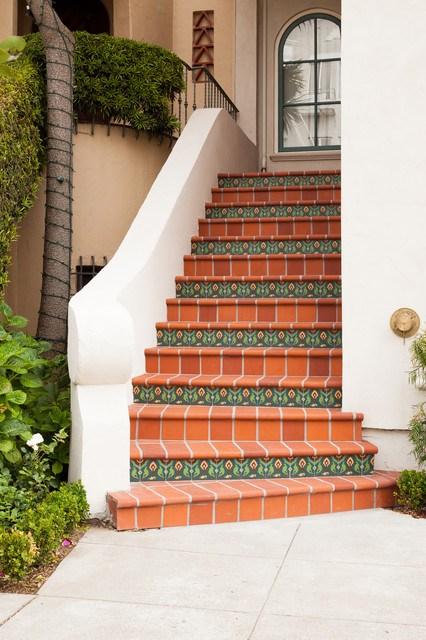 San Francisco Exterior Staircase Mediterranean Staircase San | Stairs Tiles Design For Home | Readymade Staircase | Duplex House | Style Kerala | Railing | Porcelain