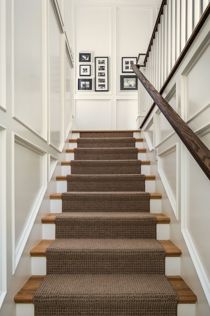 The Upstairs Downstairs Connection Picking The Right Stair Treatment   Carpet Stairs In The Woods   Wilderness   Open Wooden Stair   Glitter   Country House   Traditional