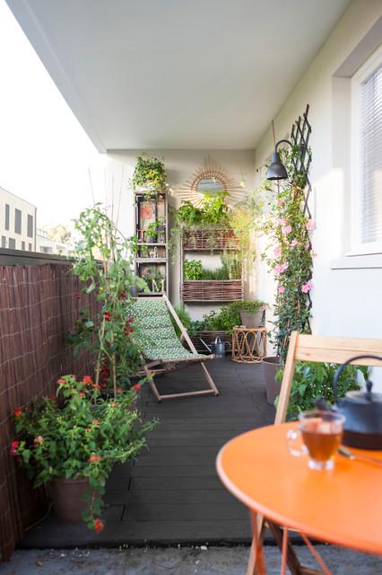 amenager un petit balcon urbain mode d