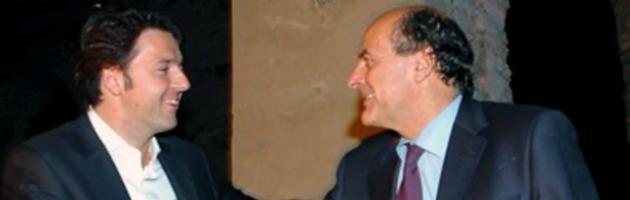 Pier Luigi Bersani e Matteo Renzi