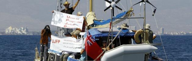 Israele sequestra la nave degli attivisti filo-palestinesi di Flotilla