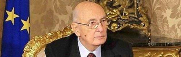 """Napolitano: """"No a giudizi di parte"""". E su candidatura Monti: """"Libera scelta"""""""
