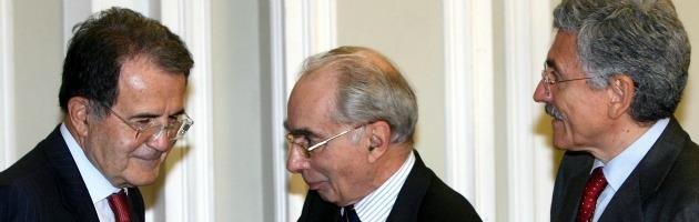 Prodi Amato e D'Alema