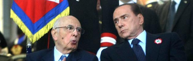 Napolitano e Berlusconi