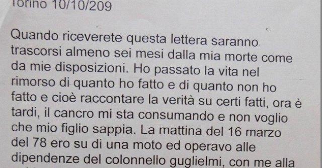 """Caso Moro, ex poliziotto all'Ansa: """"I Servizi protessero le Br in via Fani"""""""