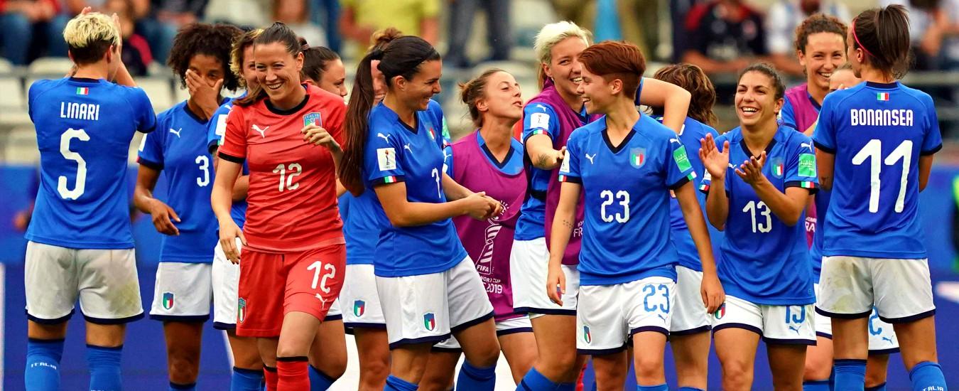Mondiali Calcio Femminile Litalia Sfida Il Brasile Per La