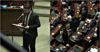 Phase 2, Ricciardi (M5s) criticizes Lombardy in the Chamber, screams and protests of the League: