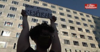 African American killed, activists demonstrate in Milan outside the US consulate: