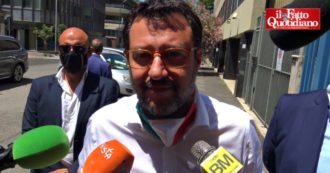 """Center-right in the parade in Rome, Salvini: """"Apologize for gatherings and selfies? The problem of Italians is layoffs"""
