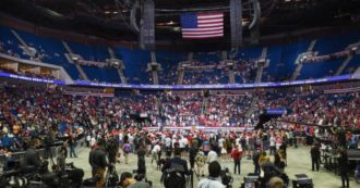 Trump, flop rally in Tulsa: the event emptied of a
