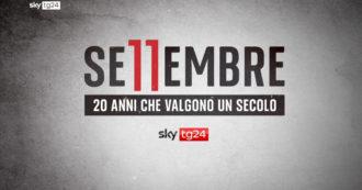 """""""11 settembre – 20 anni che valgono un secolo"""": lo speciale di SkyTg24 con interviste e dirette a due decenni dall'attentato alle Torri Gemelle"""