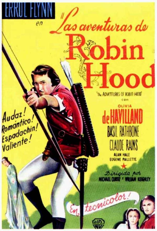 Постеры: Приключения Робин Гуда / Постер фильма ...