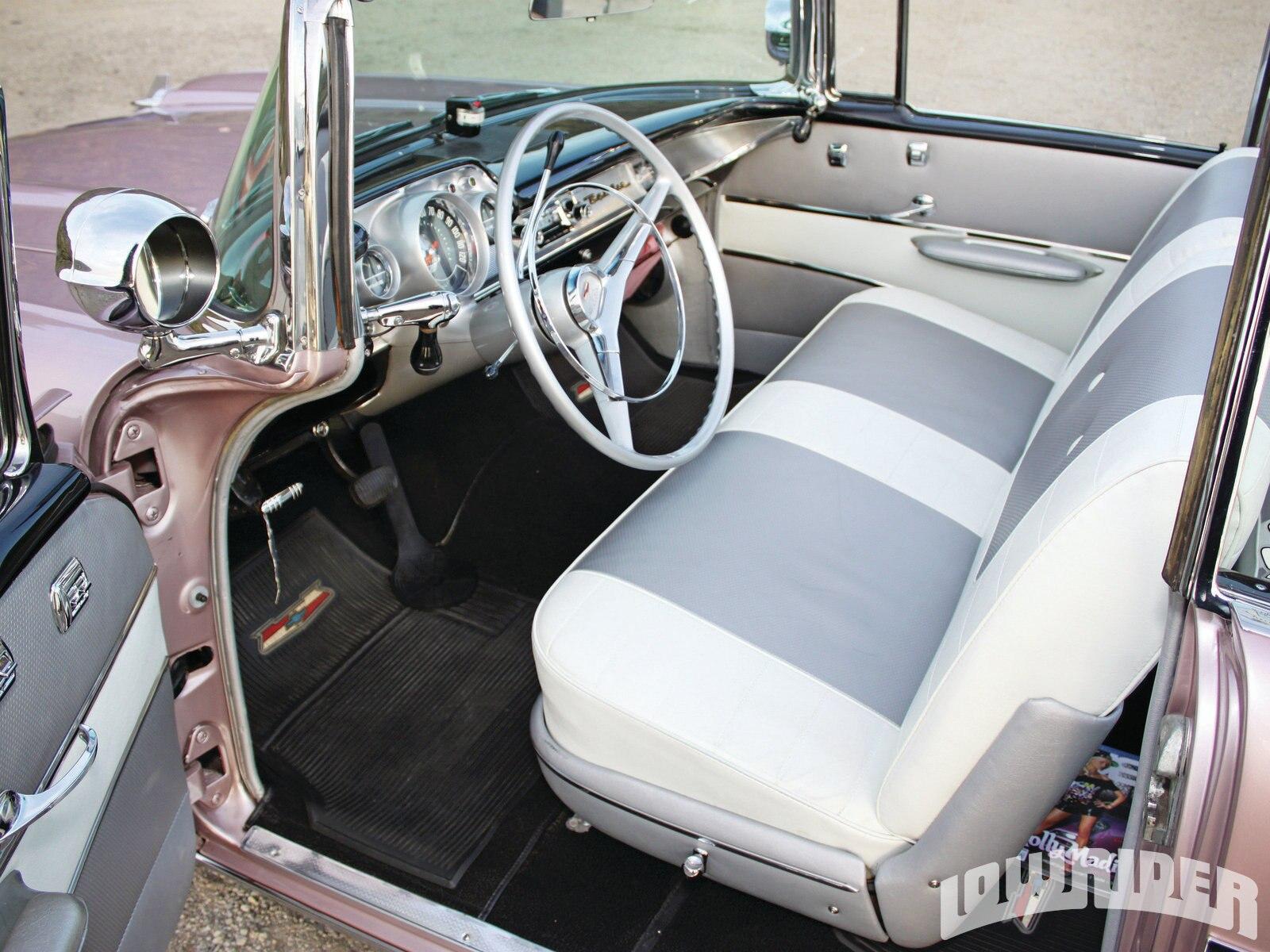 1951 Chevy Bel Air Interior All About Chevrolet 4 Door Pristine 1956 Dashboard Stock Image Source Sedan